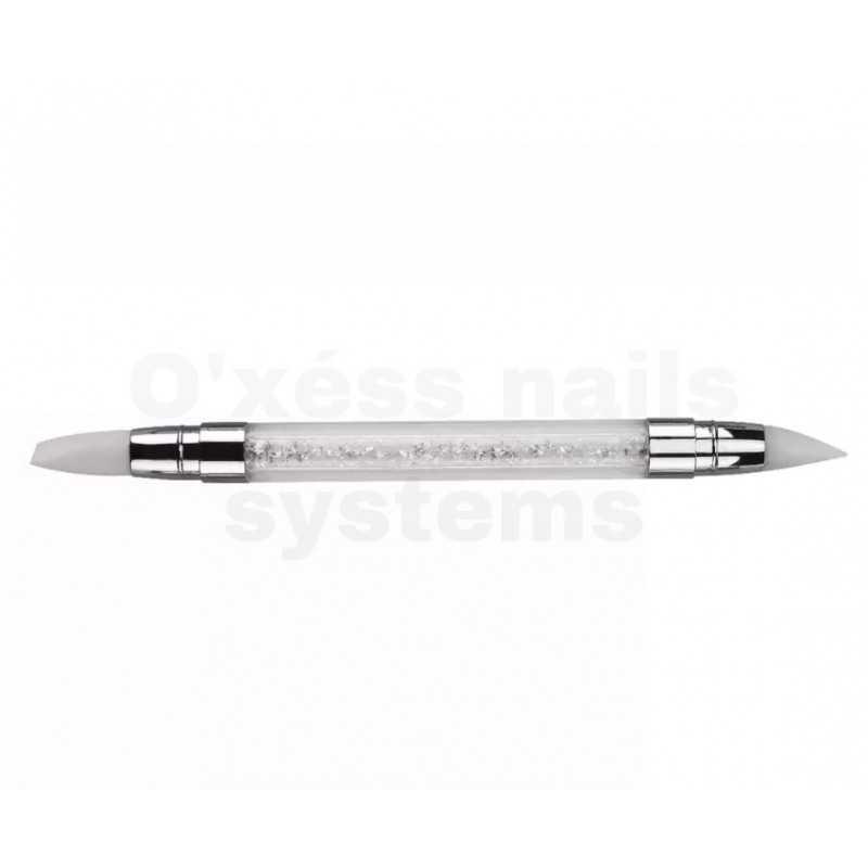 stylos silicone de sculpture blanc