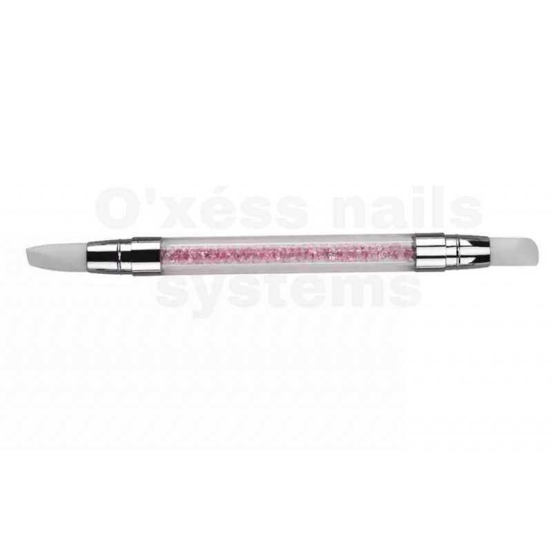 stylos silicone de sculpture rose