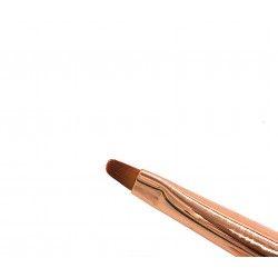 Pinceau 3D pasteline oval gold