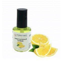 Huile cuticules citron