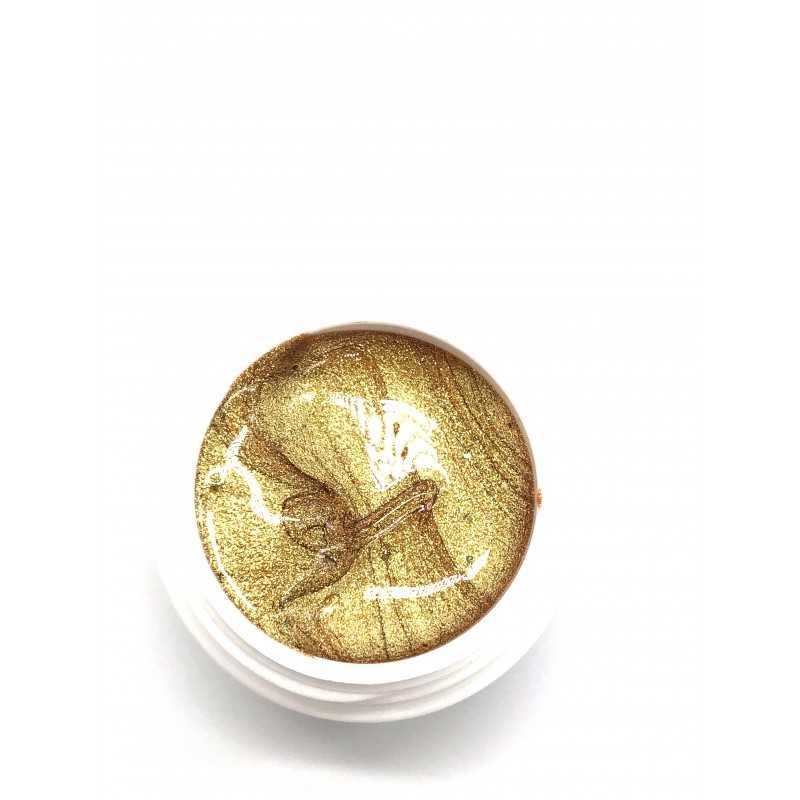 Gel art painting gold