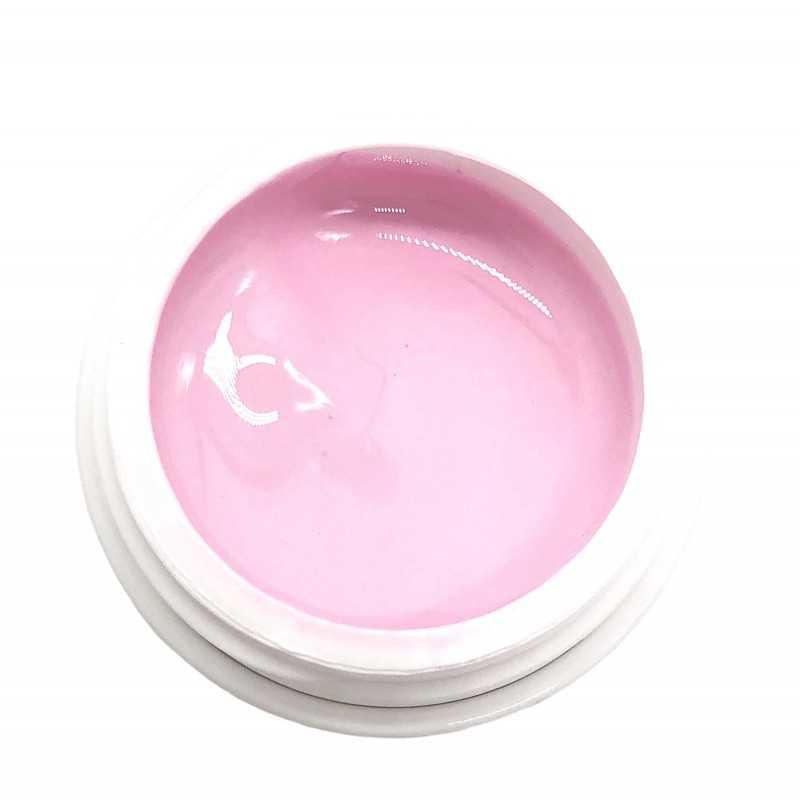 Gel art painting pastel pink