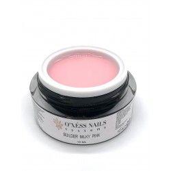 Gel builder milky pink