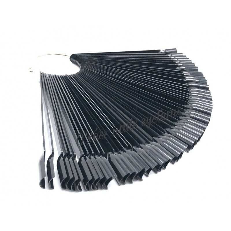 Nuancier forme square noir