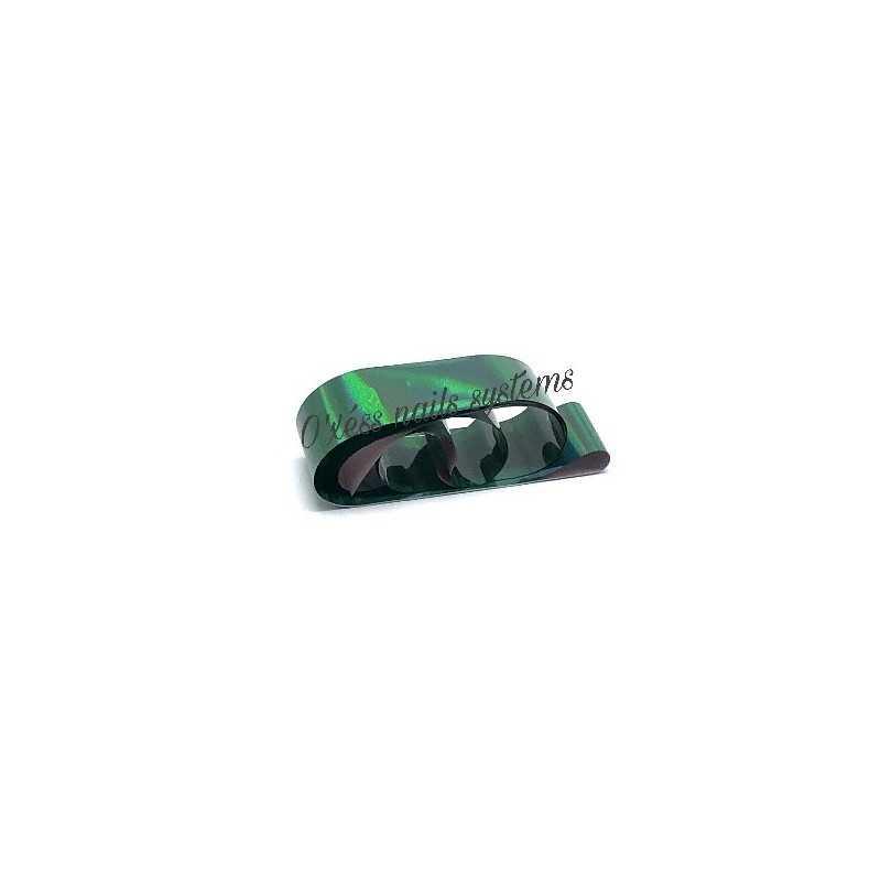 Transfer Foil dark green  holographe