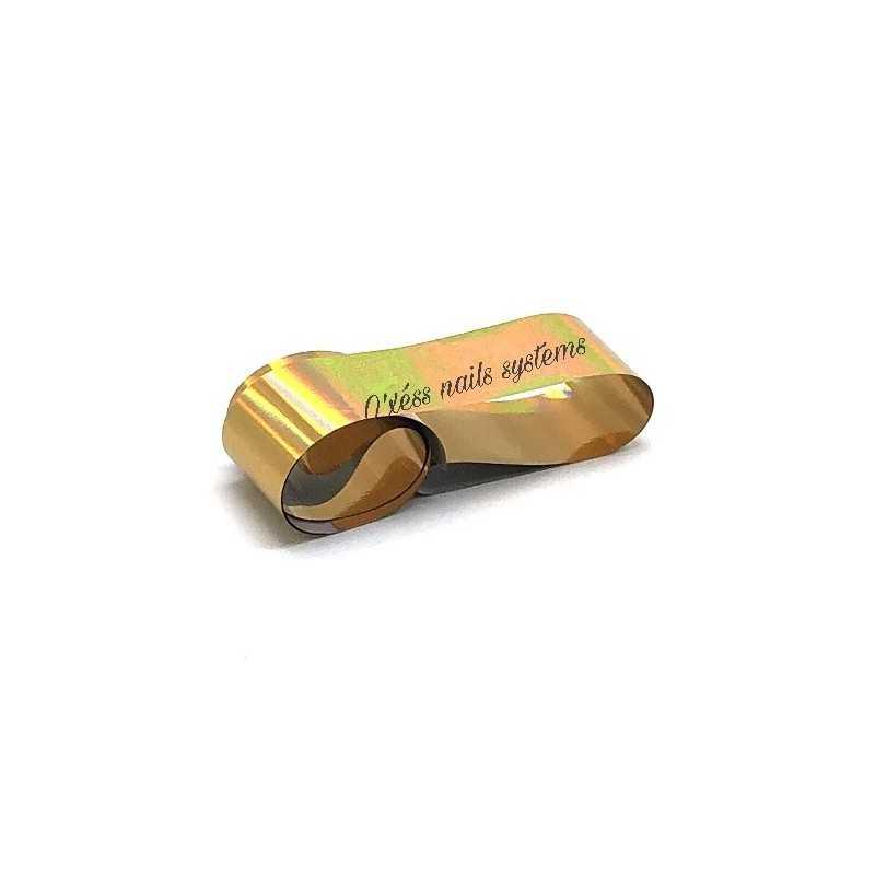 Transfer Foil gold holographe
