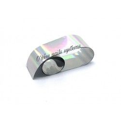 Transfer Foil silver holographe