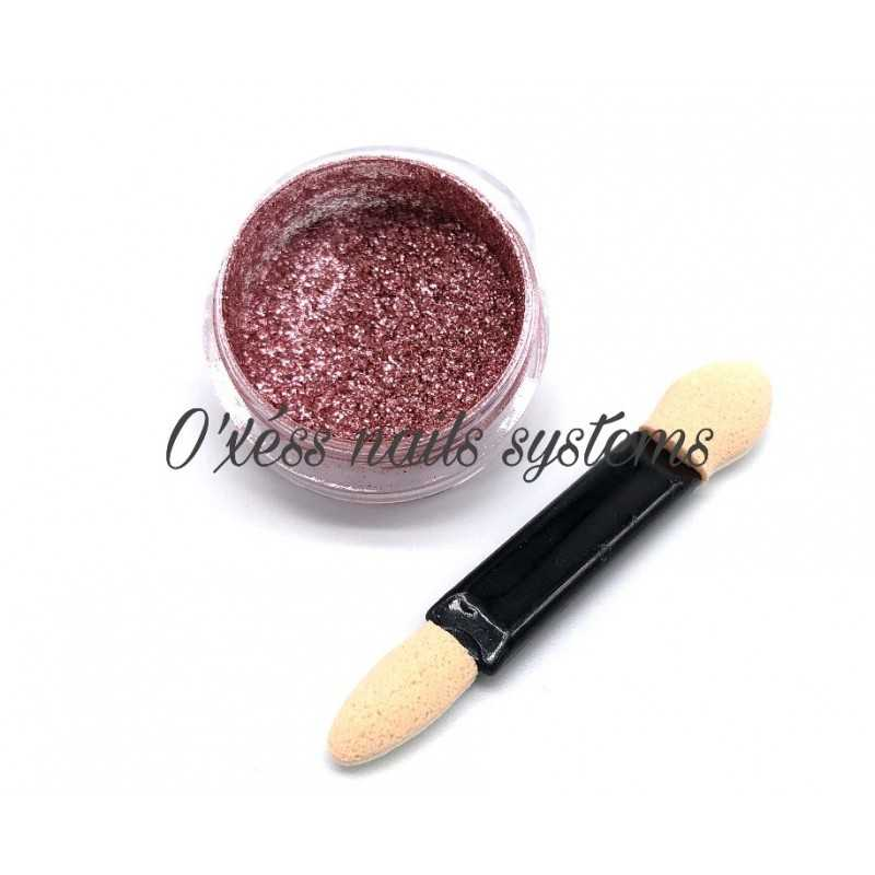 Pigments a effets chrome rose gold