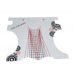 Chablons formes extrême - Rouleau de 100pcs