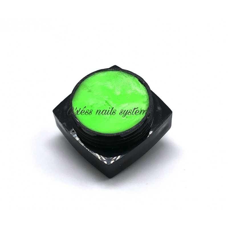 Pasteline 3D vert néon