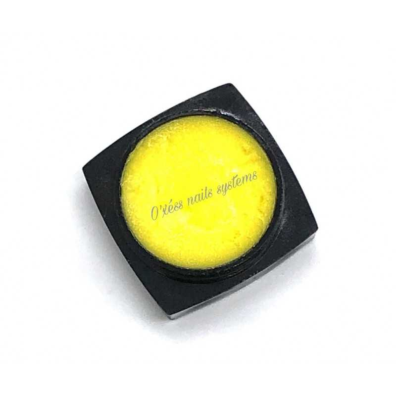 Pasteline ongle 3D jaune